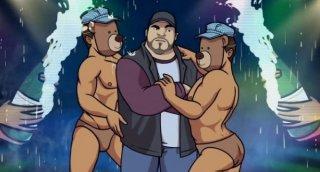 Chozen, una scena della serie d'animazione gay