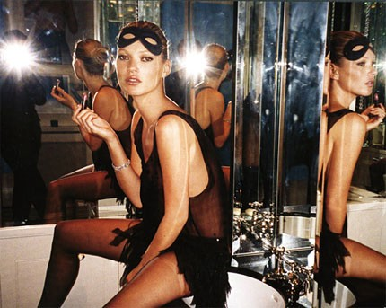 Kate Moss In Maschera 296522