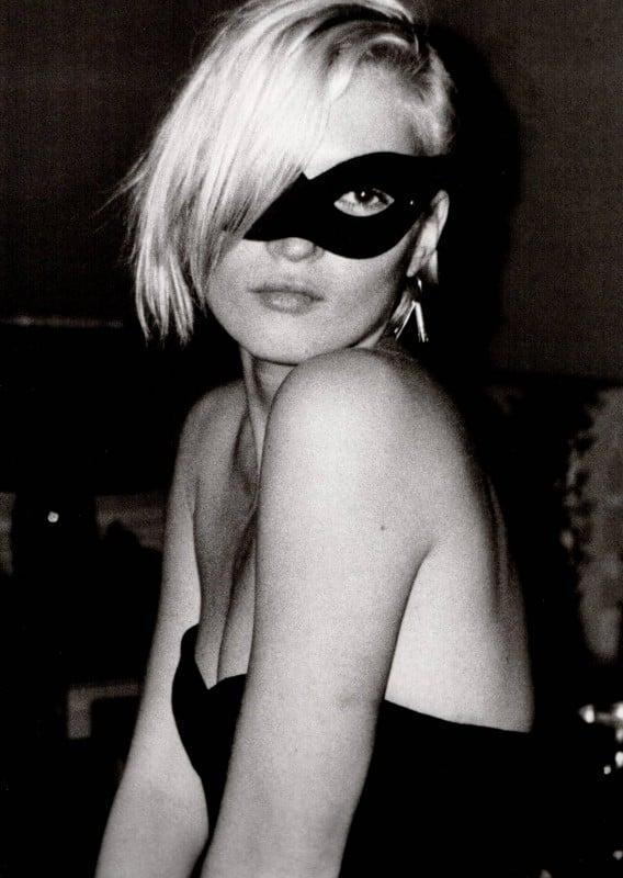 Kate Moss Ritratto In Bianco E Nero 296523