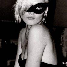 Kate Moss, ritratto in bianco e nero
