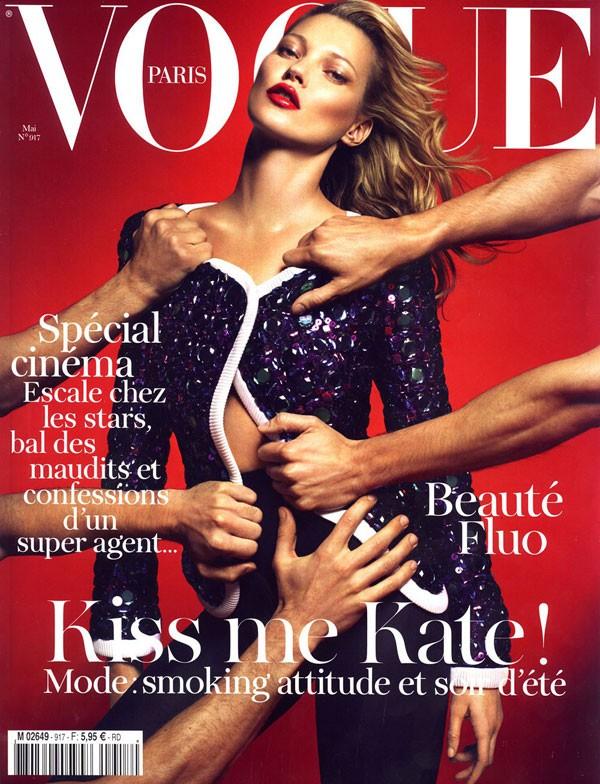 Kate Moss Su Una Delle Tantissime Cover Di Vogue 296517
