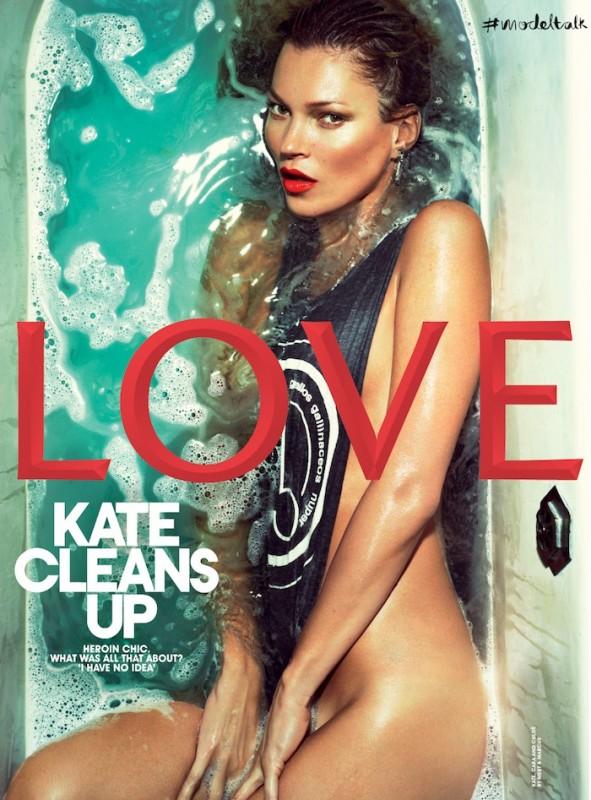 Kate Moss Sulla Cover Del Magazine Love 296519