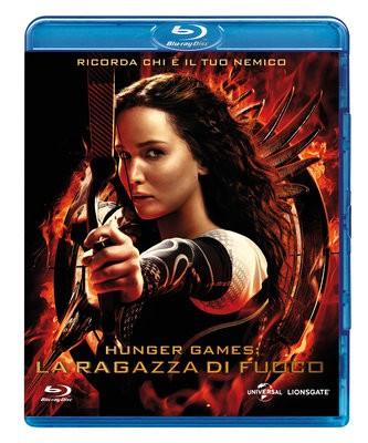 La Copertina Di Hunger Games La Ragazza Di Fuoco Blu Ray 296465