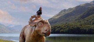 A spasso con i dinosauri: Ginepro e Alex in una scena
