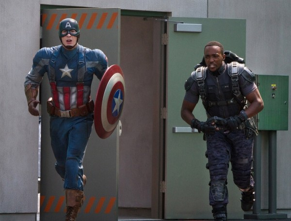 Captain America The Winter Soldier Chris Evans E Anthony Mackie In Azione 296638