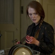 Carrie: Julianne Moore insanguinata in un drammatico momento del film