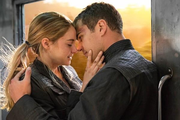 Divergent: un tenero momento tra Shailene Woodley e Theo James