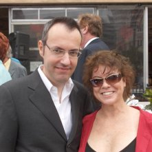 Happy Days: il presidente del fan club, Giuseppe Ganelli, con Erin Moran a Milwakee nel 2008