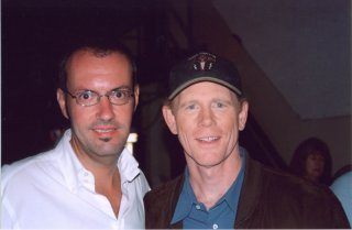 Happy Days: il presidente del fan club, Giuseppe Ganelli, con Ron Howard alla reunion dei 30 anni