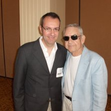 Happy Days: il presidente del fan club, Giuseppe Ganelli, con Tom Bosley a Milwakee nel 2008