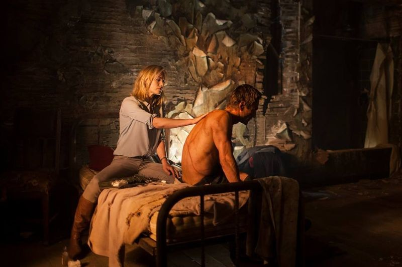 I Frankenstein Il Volto Segnato Di Aaron Eckhart In Una Scena Del Film Fantasy 296555