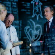 I, Frankenstein: Yvonne Strahovski con Bill Nighy in una scena del film fantasy