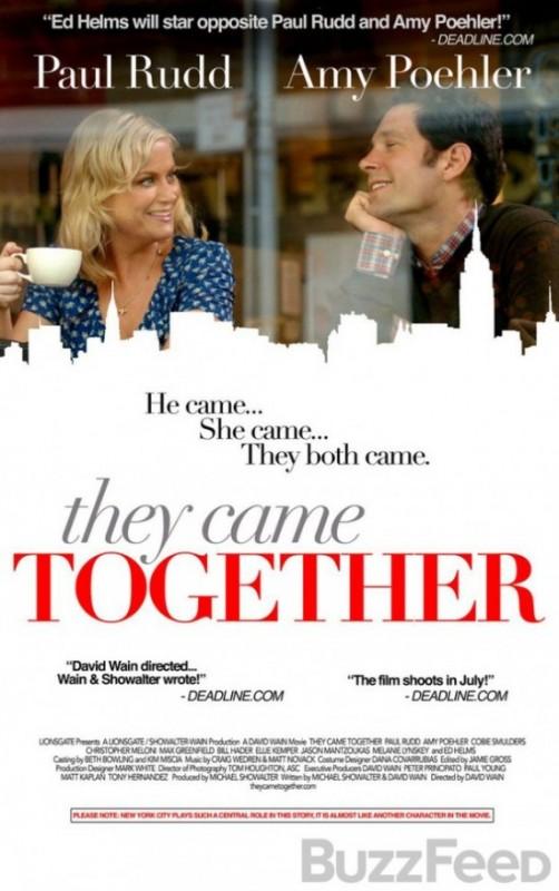 They Came Together La Locandina Del Film 296572