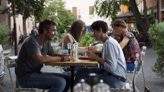 Tutta colpa di Freud: Daniele Liotti e Anna Foglietta in una scena