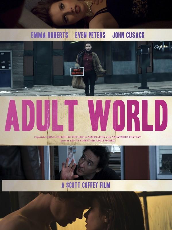 Adult World La Nuova Locandina Del Film 296875