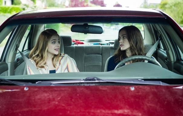 Laggies Keira Knightley E Chloe Moretz In Auto 296917