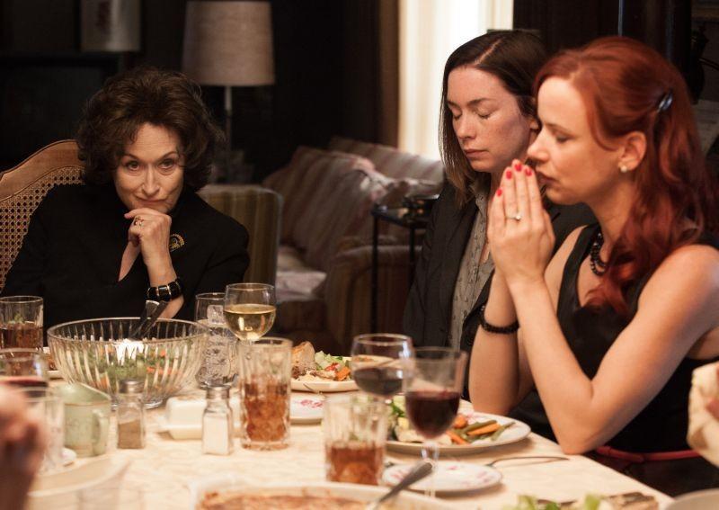 Meryl Streep In Una Scena De I Segreti Di Osage County Con Juliette Lewis E Julianne Nicholson 296997