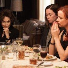 Meryl Streep in una scena de I segreti di Osage County con Juliette Lewis e Julianne Nicholson