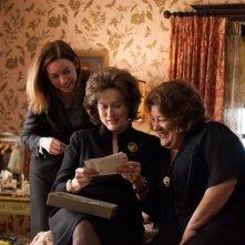 Meryl Streep in una scena de I segreti di Osage County con Margo Martindale e Julianne Nicholson