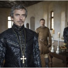 The Musketeers: Peter Capaldi in un'immagine del primo episodio della serie