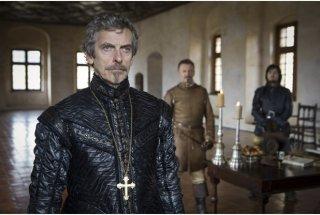 The Musketeers: Peter Capaldi in un'immagine del primo episodio della serie