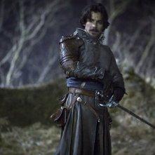 The Musketeers: Santiago Cabrera in un'immagine del primo episodio della serie