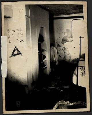 Un'immagine tratta dal film Il segnato