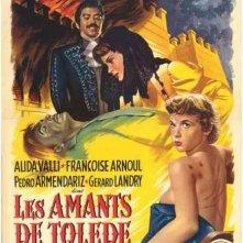 Gli amanti di Toledo: la locandina del film