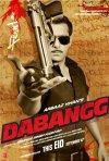 Dabangg: la locandina del film