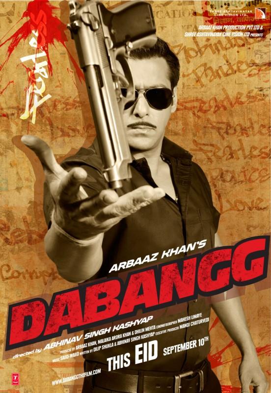 Dabangg La Locandina Del Film 297213