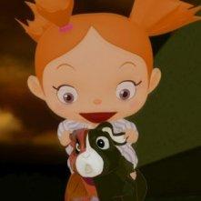 La scuola pià pazza del mondo: la super peste Mako in una scena del film d'animazione