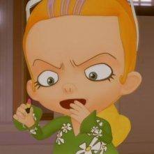 La scuola pià pazza del mondo: la super vanitosa Miko in una scena del film d'animazione