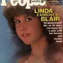 Linda Blair in cover su People per il secondo capitolo de L'Esorcista