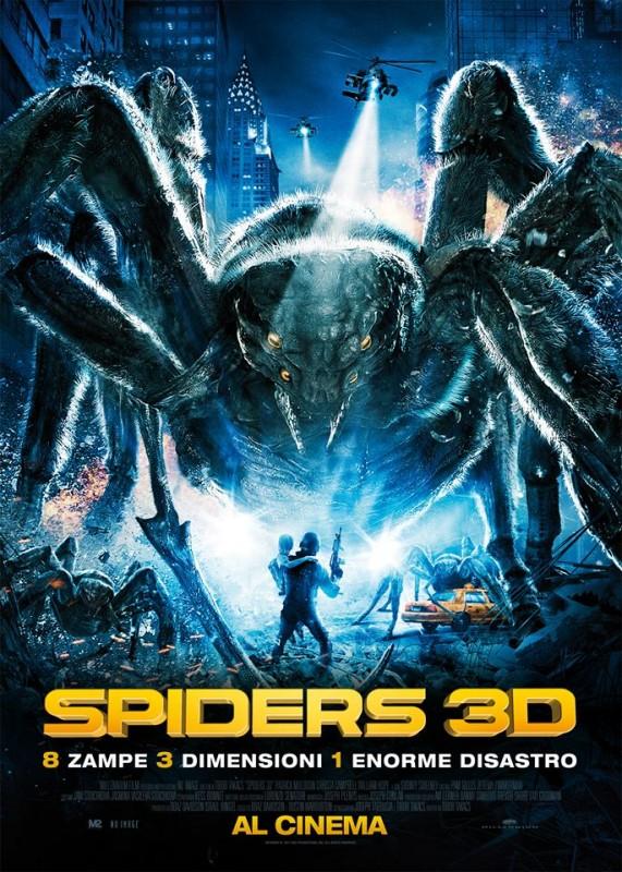 Spiders 3D La Locandina Italiana 297157