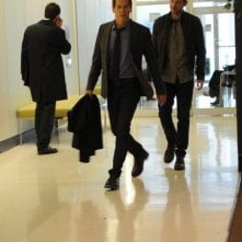 The Following: Kevin Bacon, Shawn Ashmore in una scena dell'episodio Resurrection