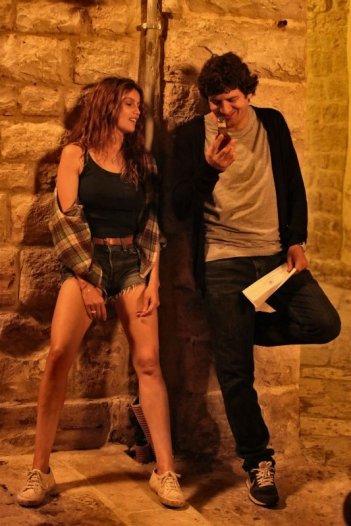 Una donna per amica: Laetitia Casta in una scena con l'amico Fabio De Luigi