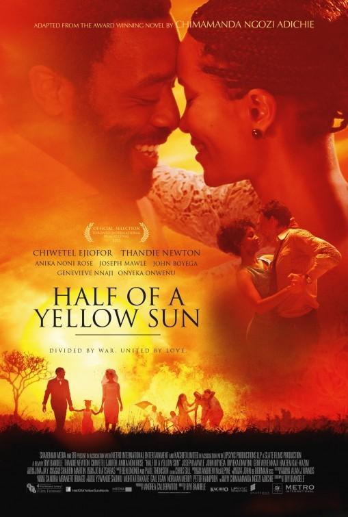 Half Of A Yellow Sun La Locandina Del Film 297222