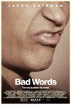 Bad Words: la locandina del film