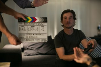 Amore oggi: Alessandro Tiberi sul set dell'episodio Il campione