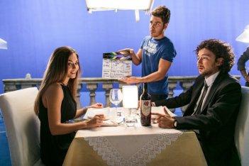 Amore oggi: Giancarlo Fontana e Mily Cultrera Di Montesano sul set dell'episodio Ragazza dei sogni