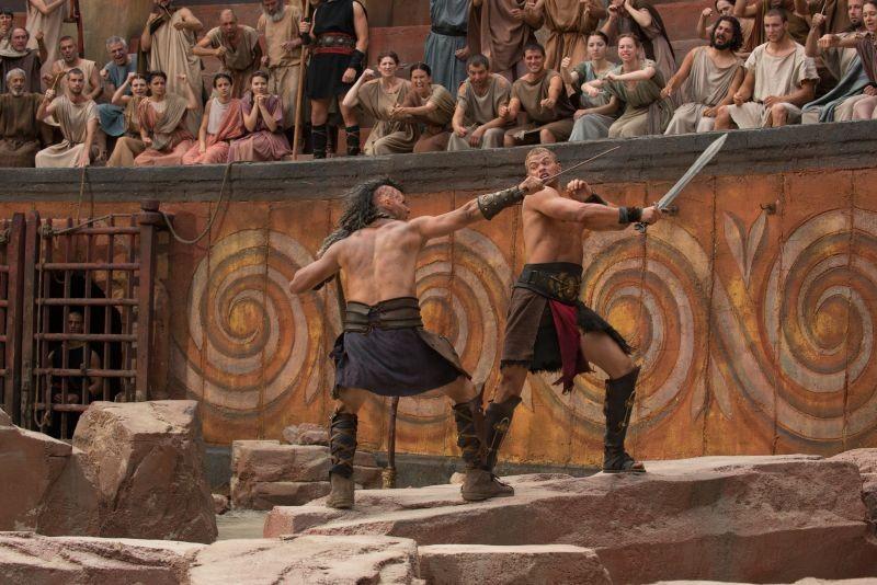 Hercules La Leggenda Ha Inizio Kellan Lutz Combatte Nell Arena In Una Scena Del Film 297492
