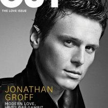 Looking: il protagonista della serie, Jonathan Groff sulla cover di OUT
