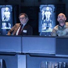 Robocop: Gary Oldman con Jackie Earle Haley in una scena del film