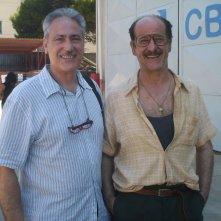 Arturo Alessandri con Toni Servillo sul set di E' stato il figlio