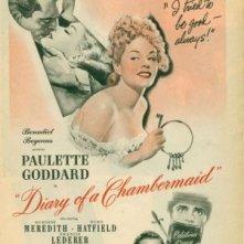 Il diario di una cameriera: la locandina del film