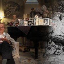 Il mistero di Dante: Franco Zeffirelli in una scena tratta dal documentario