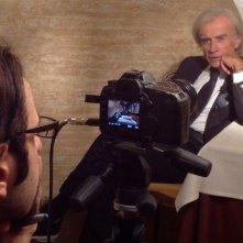 Il mistero di Dante: Gabriele La Porta intervistato da Louis Nero sul set