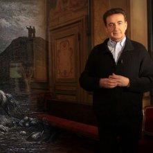 Il mistero di Dante: Roberto Giacobbo in una scena