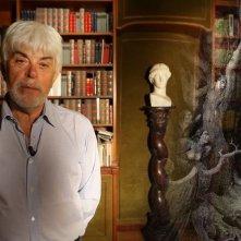 Il mistero di Dante: Valerio Massimo Manfredi in una scena del documentario