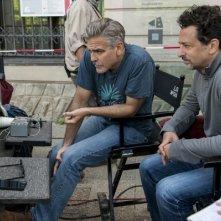 Monuments Men: George Clooney visiona il girato insieme all'amico produttore Grant Heslov